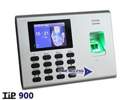 TIP900 เครื่องสแกนลายนิ้วมือ ราคาประหยัดคำนวณเวลาทำงานได้ในตัว ต่อสาย LAN ได้